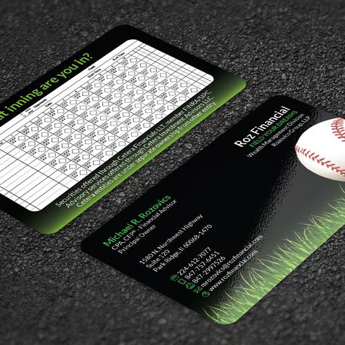 Baseball themed financial services project