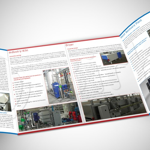 Help needed --- Brochure design for an engineering company