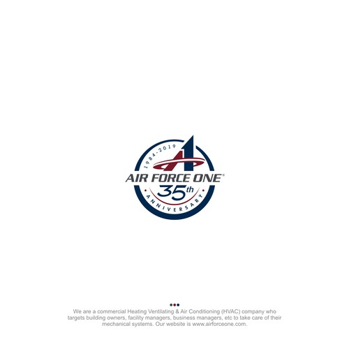 Air Force One 35th Anniversary Logo