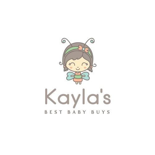 logo design for an online Baby Shop