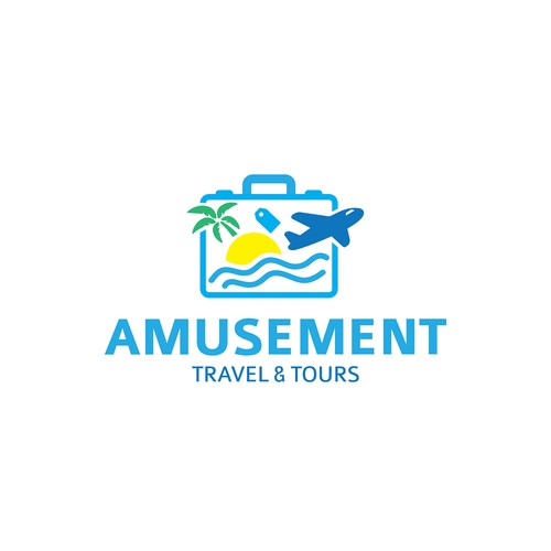 Logo concept for Travel & Tours