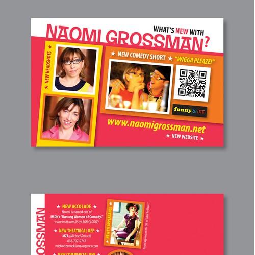 Winning Design for Direct Mail Postcards