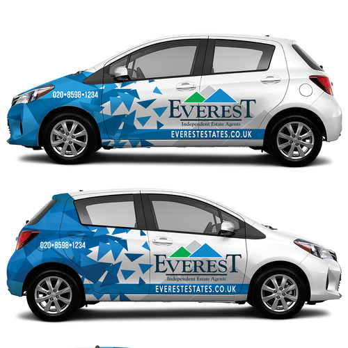 Everest Estates Vehicle Wrap