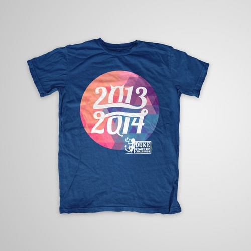 Create an artistic t-shirt design for college students at Duke University