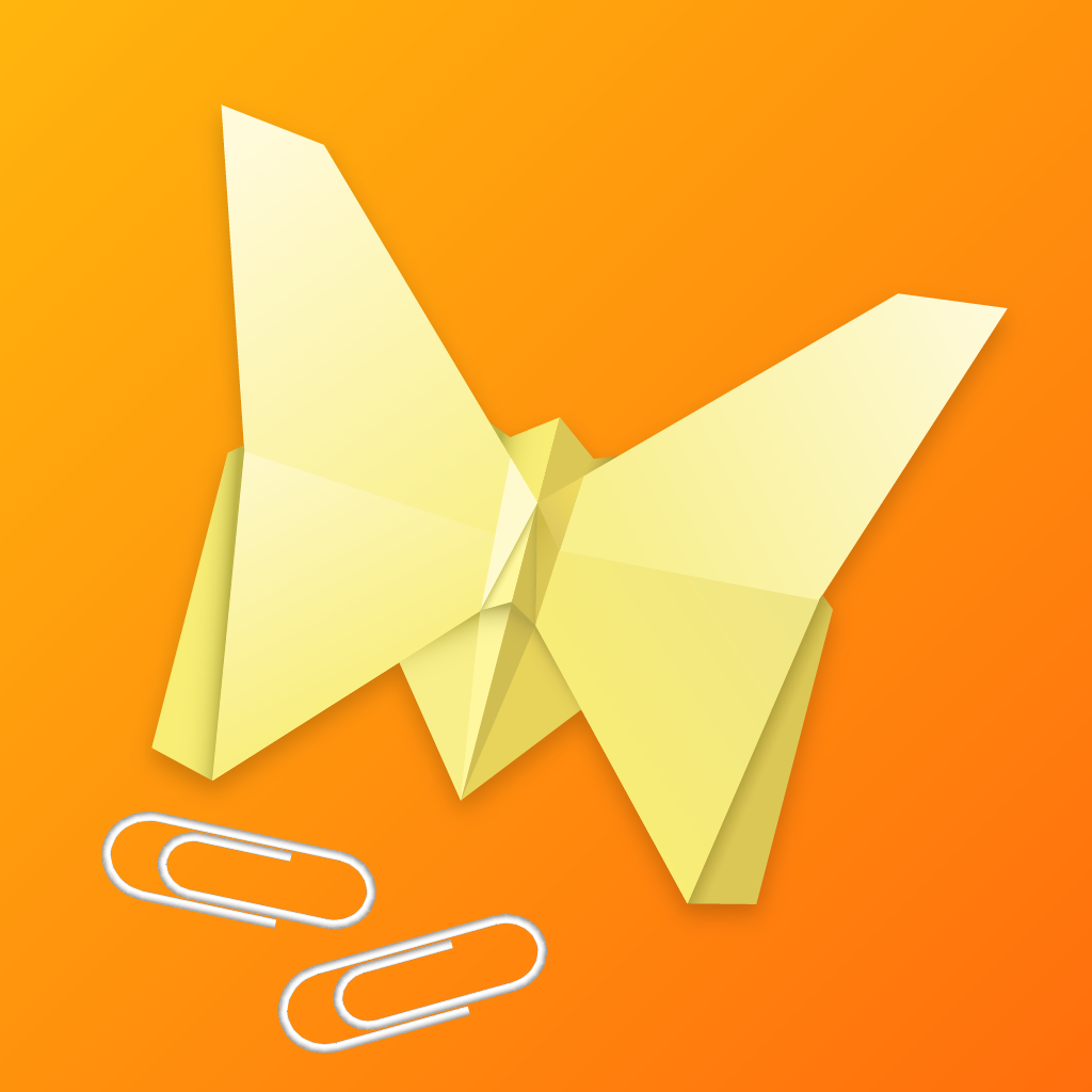 iPhone App Icon for Office Origami