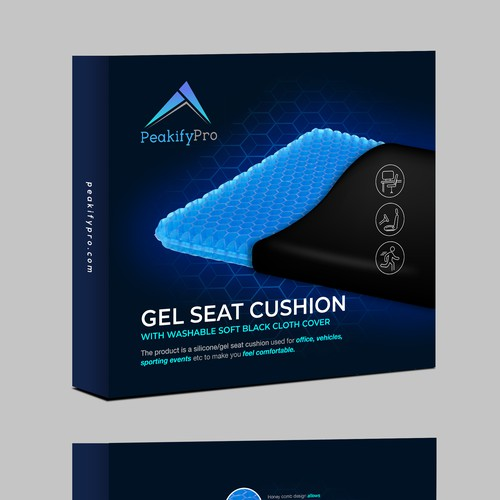 Gel Seat Cushion Design for Amazon