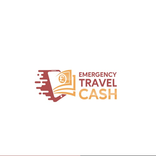 Creative logo for Emergency Travel Cash