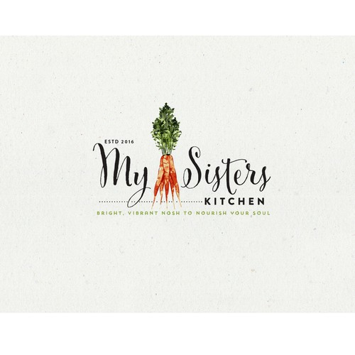 Logo Design for My Sisters Kitchen