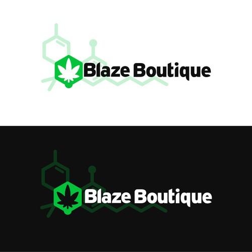 Blaze Boutique Logo Design