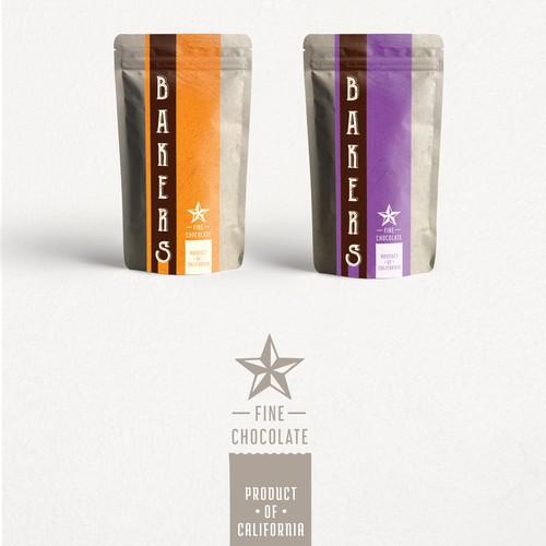 Bakers-Chocolate Packaging