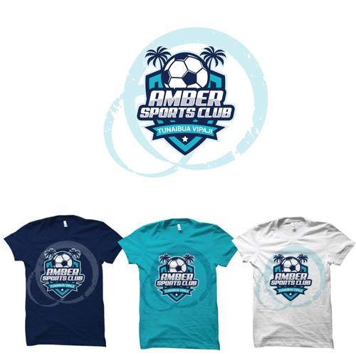 Amber Sports Club logo design