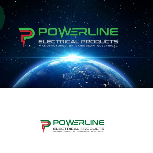 Create electrifying logo for Powerline Electrical