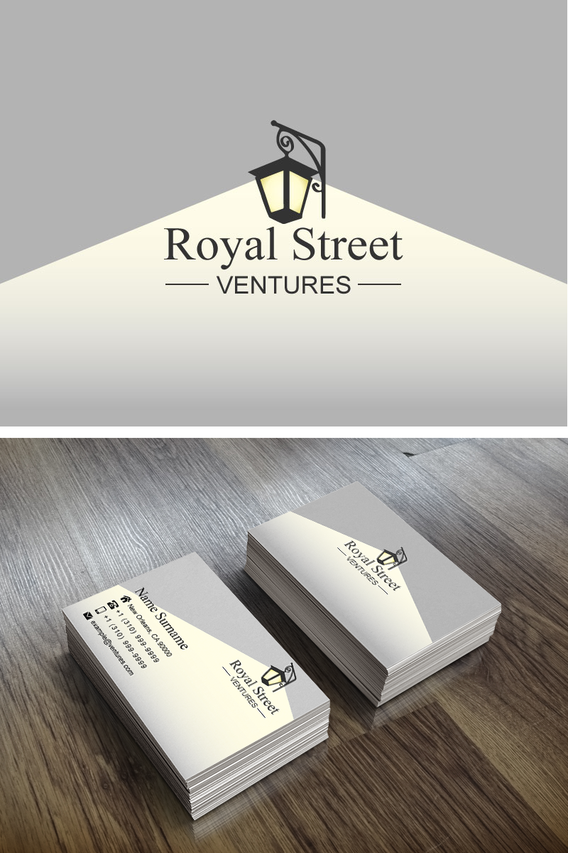 Create Brand Identity Materials for Royal Street Ventures - a new early stage VC firm