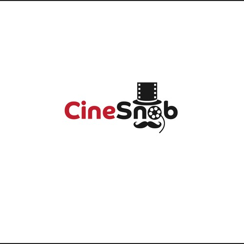 Cheeky logo for movie review website