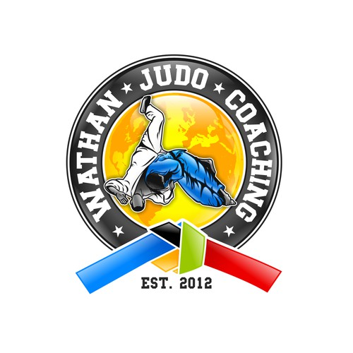 Create an iconic Judo Coaching Logo for a Proffesional Judo coach