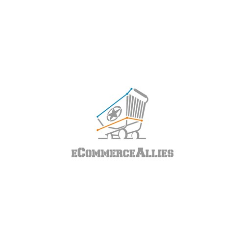 Logo concept fot eCommerceAllies
