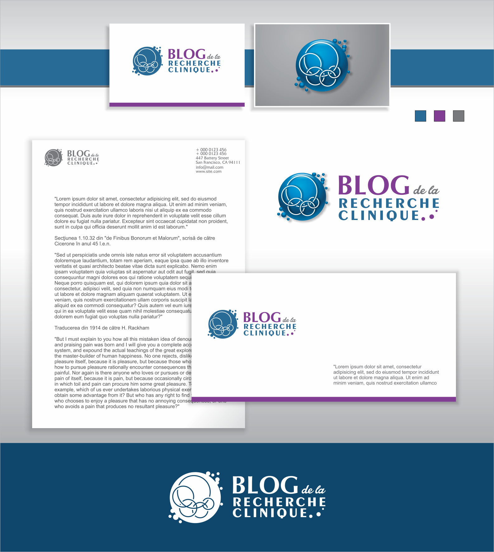 Create the logo of a new blog targeting human research professionals