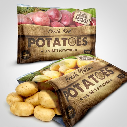 Barret Potato Farms Bags