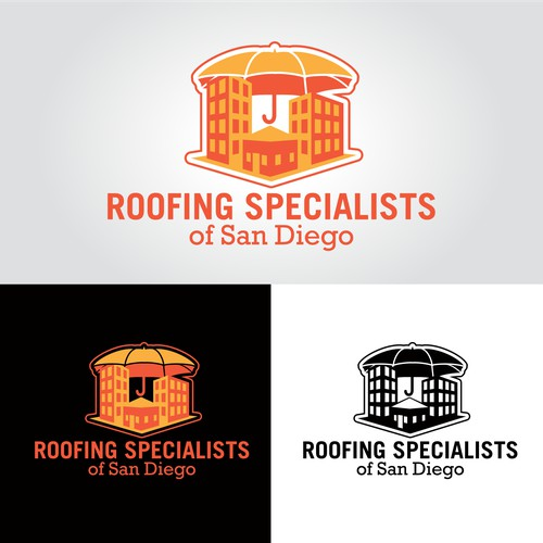 Help Roofing Specialists of San Diego with a new logo
