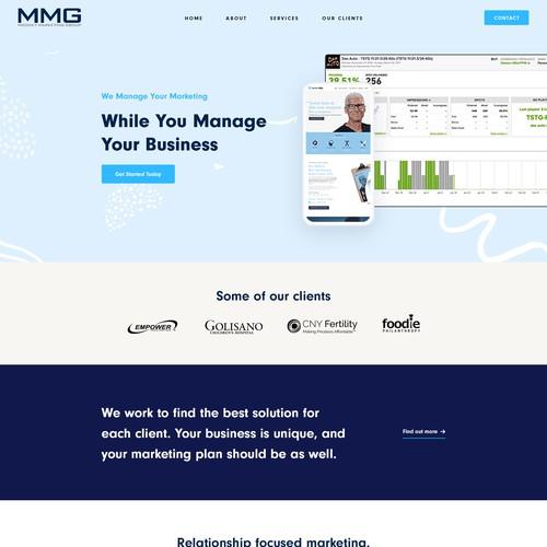 Traditional Marketing Agency Needing Non-Traditional Website Design