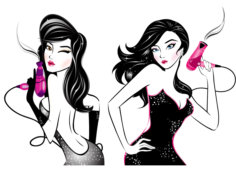 BLO/OUT Blow Dry Bar Wants a Beautiful Illustration!