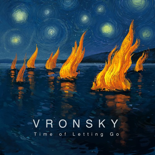 Album cover for VRONSKY