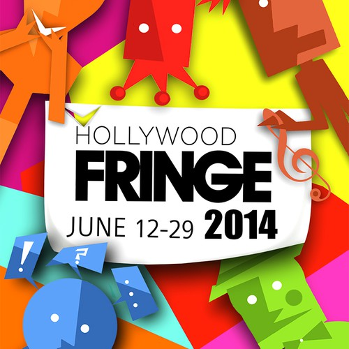 Guide Cover for the Hollywood Fringe Festival