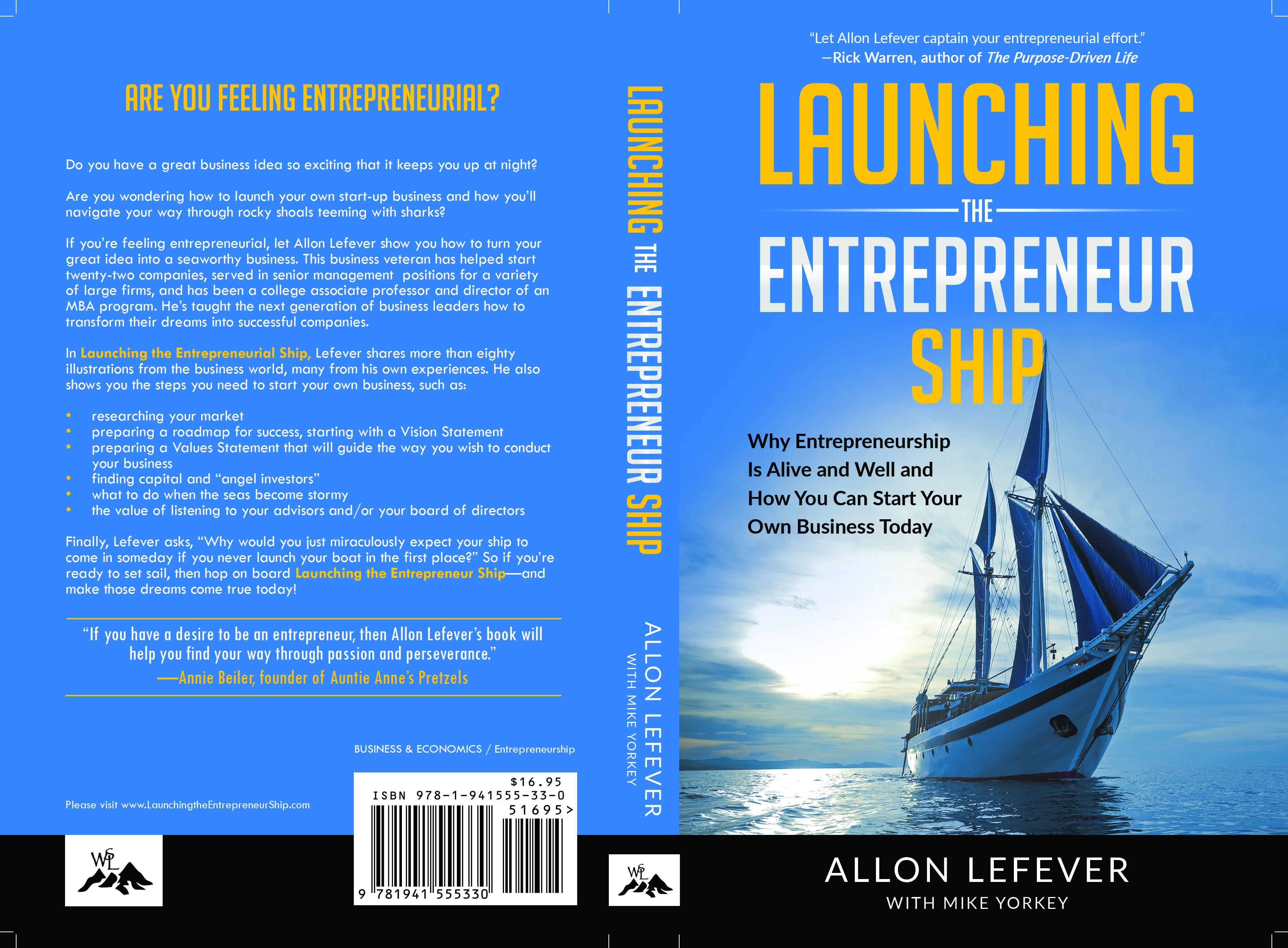 Entrepreneurship Book needs eye-catching cover