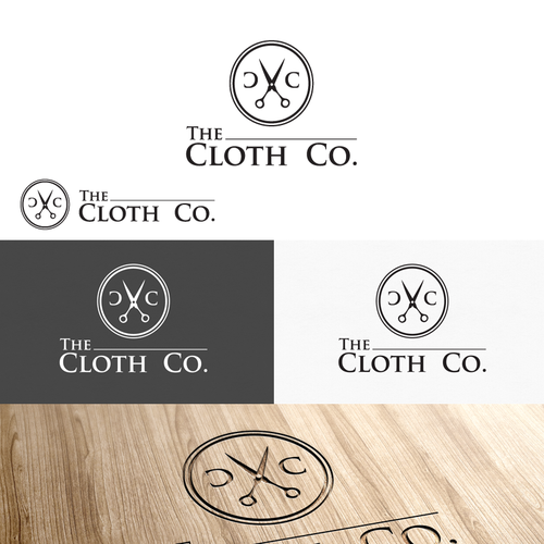 Create a classic and elegant logo design for mens business/dress shirts by The Cloth Co.