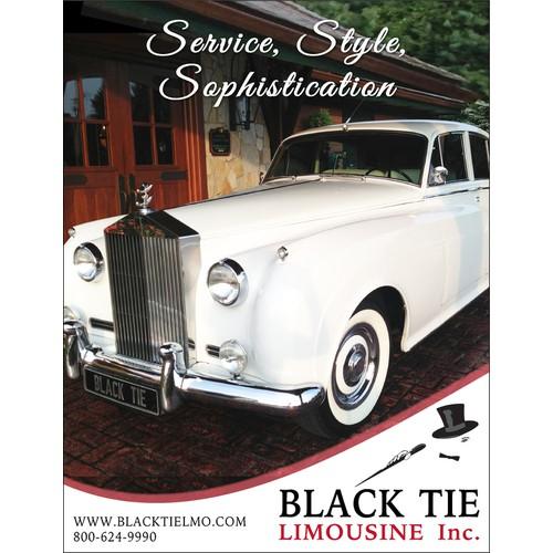 limousine company ad for publication