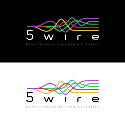 Logo for 5wire event production