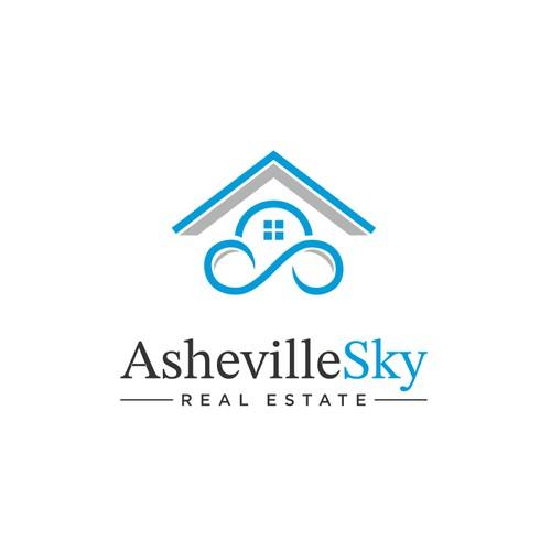 Logo Design for AshevilleSky Real Estate