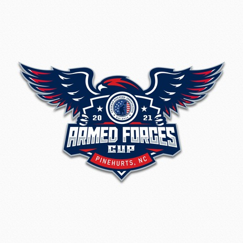 logo golf for Armed Forces Cup