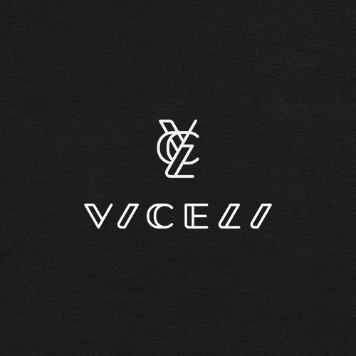 Wordmark and monogram logo for fashion brand