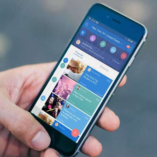 UpNixt social media app