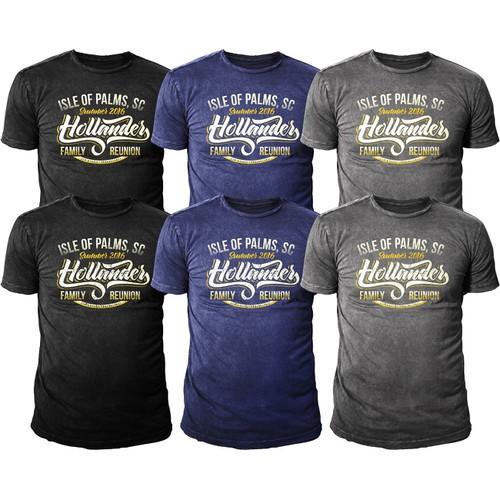 "Tshirt Design for ""Hollander Reunion Family"""