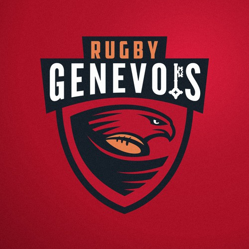 Logo concept for Rugby in Geneva and Switzerland.