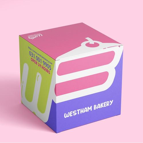Westham Bakery Cake Box