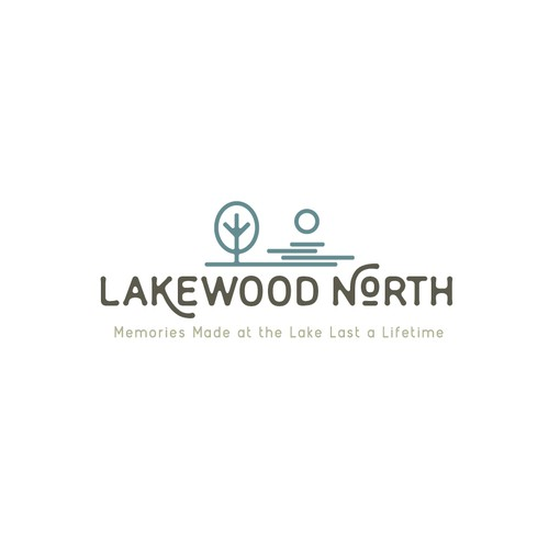 Logo concept for Lakeside vacation property