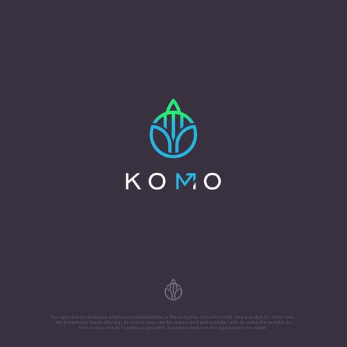 Clean, modern design concept for Komo