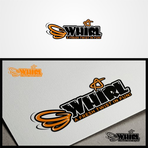 bold logo for whirl