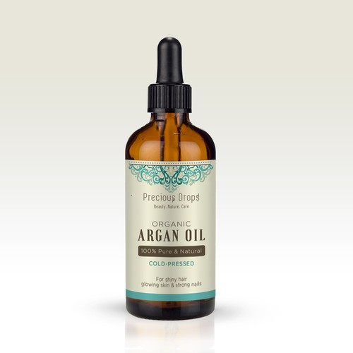 Label design for Argan Oil