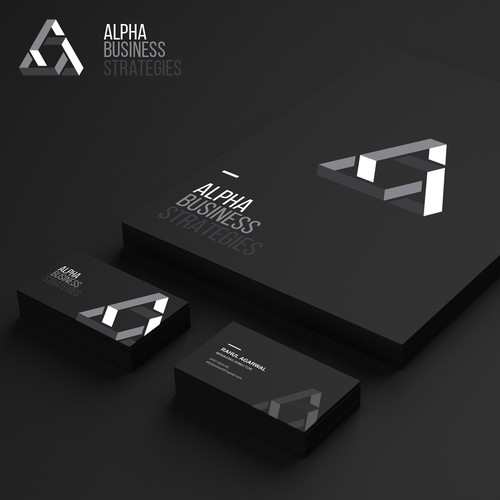 Brand identity for a business firm