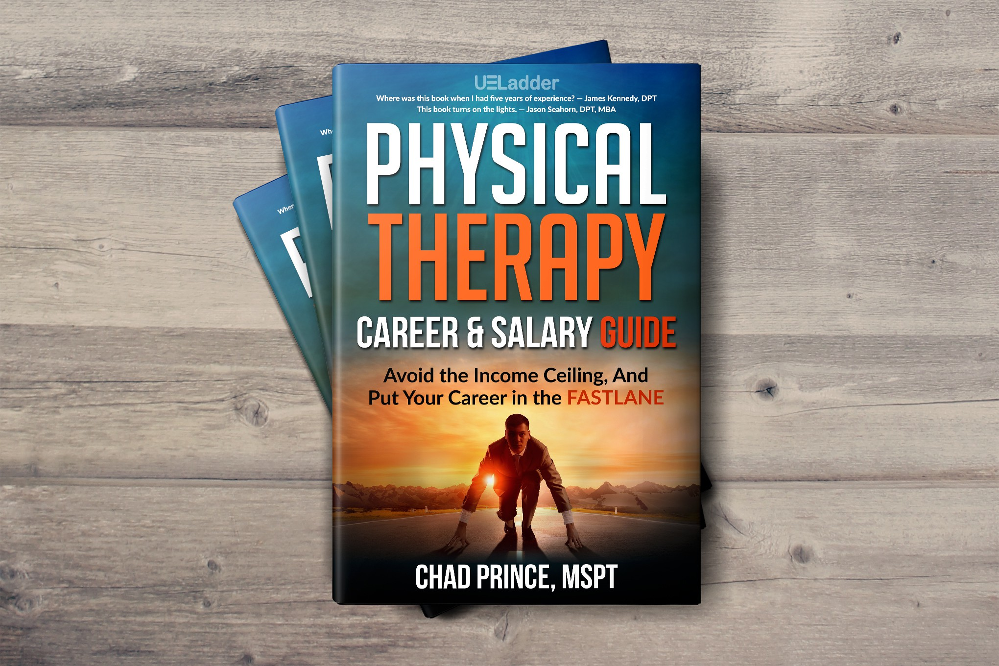 Create awesome book cover for PT Career Guide