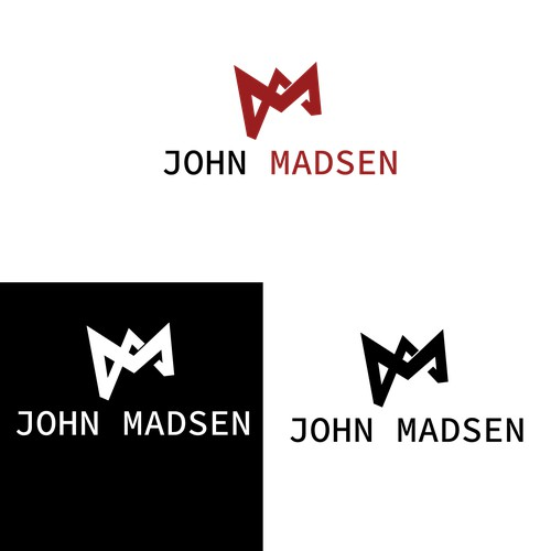jm shapes like a crown logo