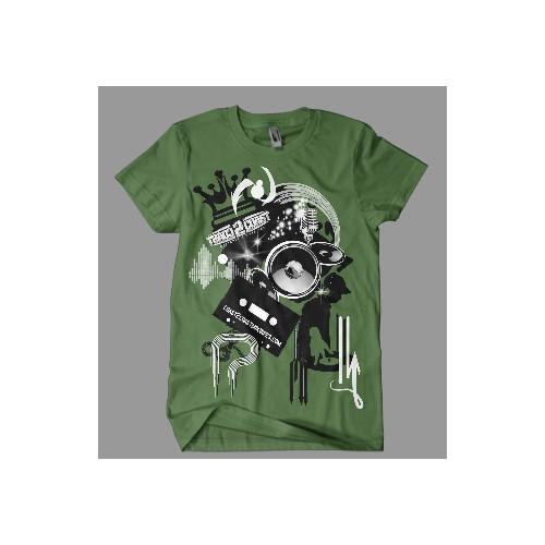 Coast 2 Coast Hip Hop Inspired T-Shirt Design