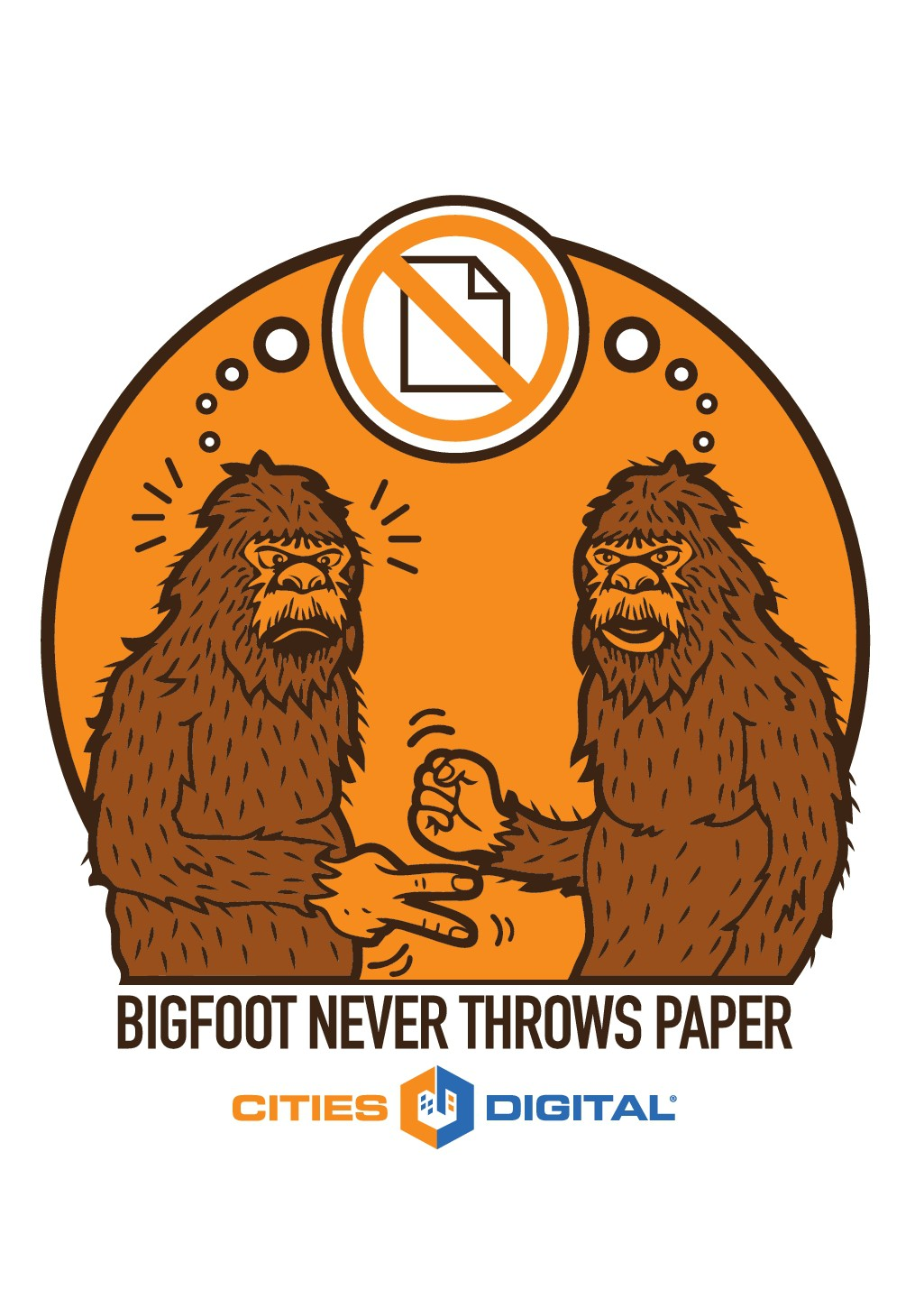 Rock/Paper/Scissors for Sasquatches