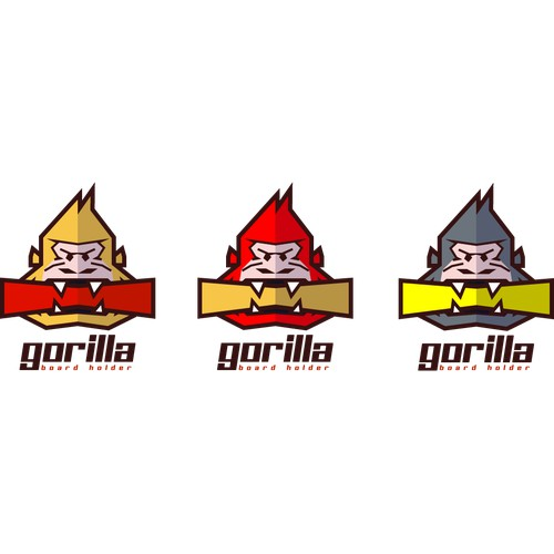 Create the next logo for Gorilla Board Holder