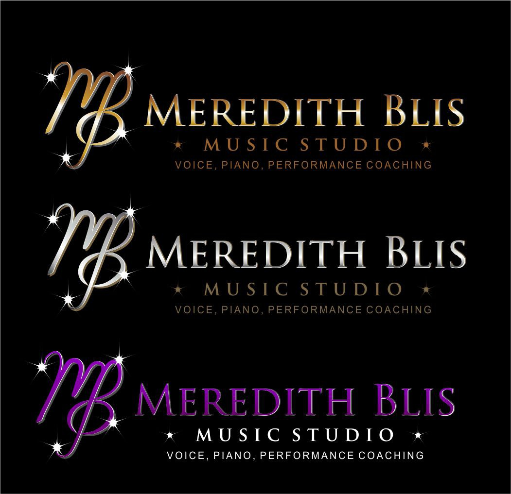 New logo wanted for Meredith Blis Voice & Piano Studio