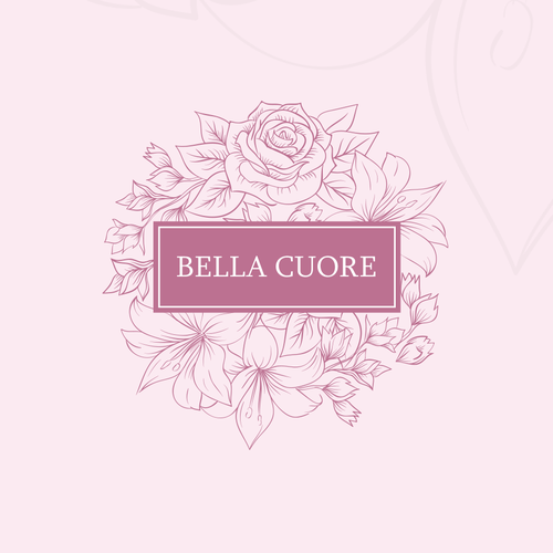 Cosmetics shop logo design